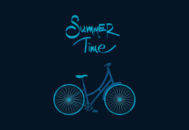 Summer bike  Artwork