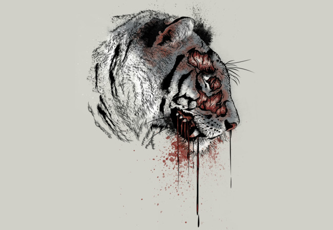 Zombie Tiger  Artwork