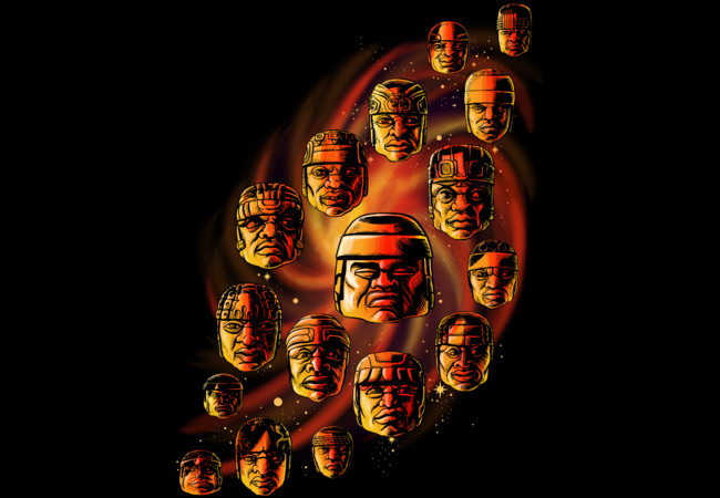 The Olmecs  Artwork