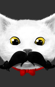 Kitty's Mouse-tache