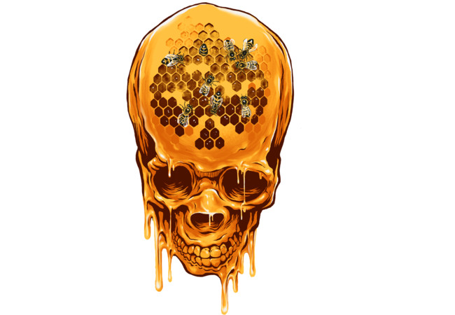 The Yellow Skull  Artwork