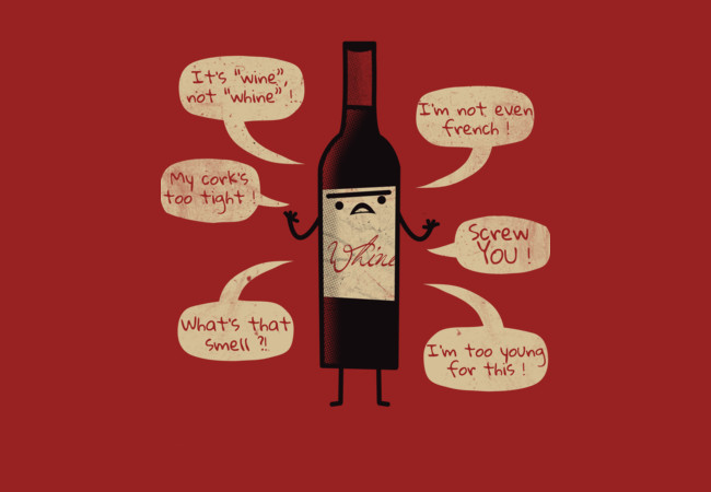 Stop Wine-ing !  Artwork