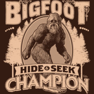 Bigfoot - Hide & Seek Champion