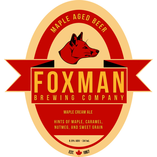 Foxman Brewing Company Art Print By Michaelalfox Design By