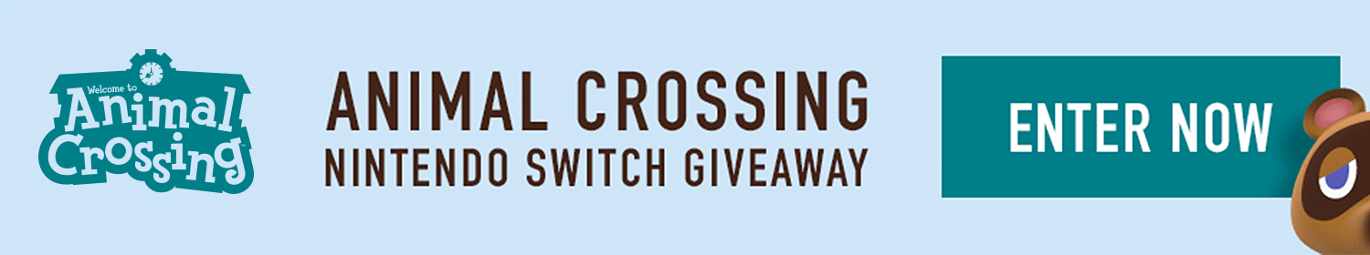 Animal Crossing: New Horizons Nintendo Switch Giveaway
