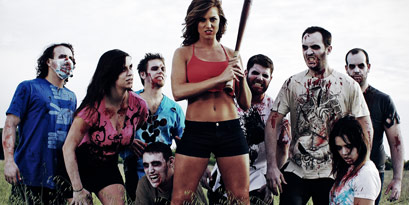Batter Up! Zombie  Apocalypse