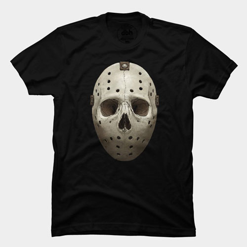 jason crystal lake spooky horror scary movie film icon character tshirt tee