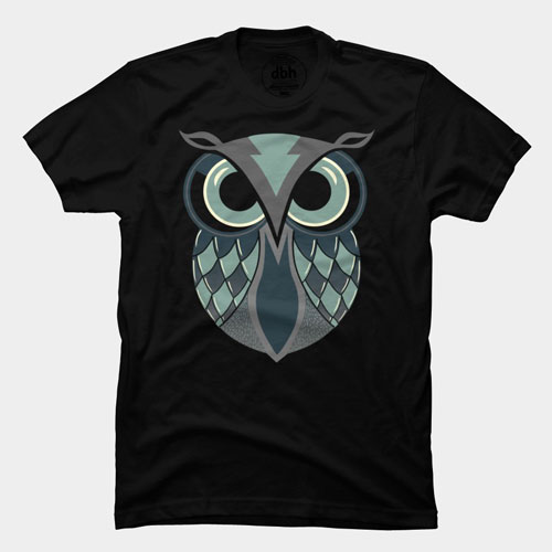 the deceiver pinkstorm owl vector simple cool tshirt tee