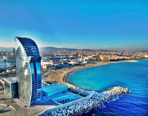 spain barcelona beach hotel