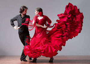 spain chacha flamenco dancing