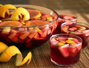 spain sangria alcohol drink