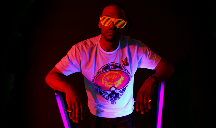 Black Light Photoshoot