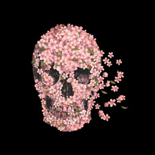 flower skull beautiful death igo2cairo creepy weird skull tshirt tee