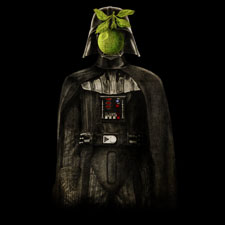 son of man son of darkness opifan64 darth vader star wars parody rene magritte