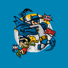 batman robin wayne bruce djkopet pop culture cartoon tshirt tee