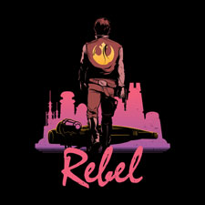 rebel pop culture tshirt tee djkopet