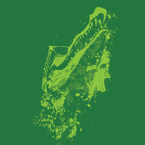 Cool Croc In Green Design Good Luck On Your Next One Color T Shirt