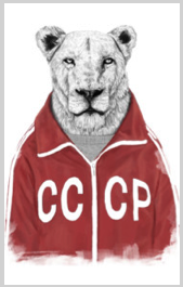lion t shirt tee russia russian jacket clothes pencil drawing sketch black and white