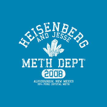 heisenberg athletics bomdesignz walter white meth jesse athletics tshirt t shirt tee pop culture mashup