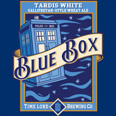 blue box dcvisualarts blue moon beer tardis dr who doctor who parody mashup pop culture tv show tshirt tee