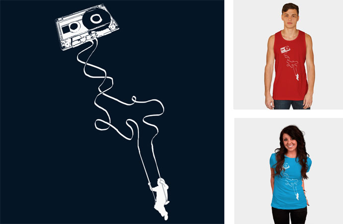 swing to the music cassette tape nostalgia child swing retro urban vintage 1980s 80s vector one color minimal tshirt tee tank crew crewneck sweatshirt phone case iphone