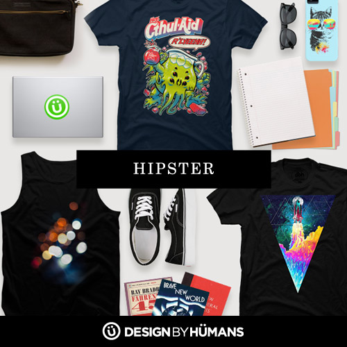 hipster and alternative t-shirts from design by humans