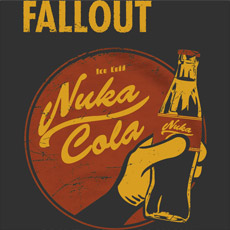 nuka cola fallout coca cola soda pop culture maship tshirt tee typography gaming video game gamer tank top sweatshirt phone case