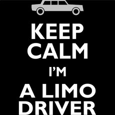 keep calm I'm a limo drive harry lloyd dumb and dumber movie film quote pop culture mashup tshirt tee tank top sweatshirt