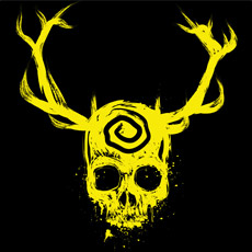 yellow king symbol swirl skull eyes painted deer antlers dark art tshirt tee tank top sweatshirt phone case