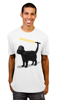 Star Wars Cat T Shirt