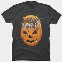 Halloween Monsters tees