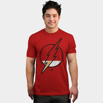 running low flash supehero t shirt tank top sweatshirt