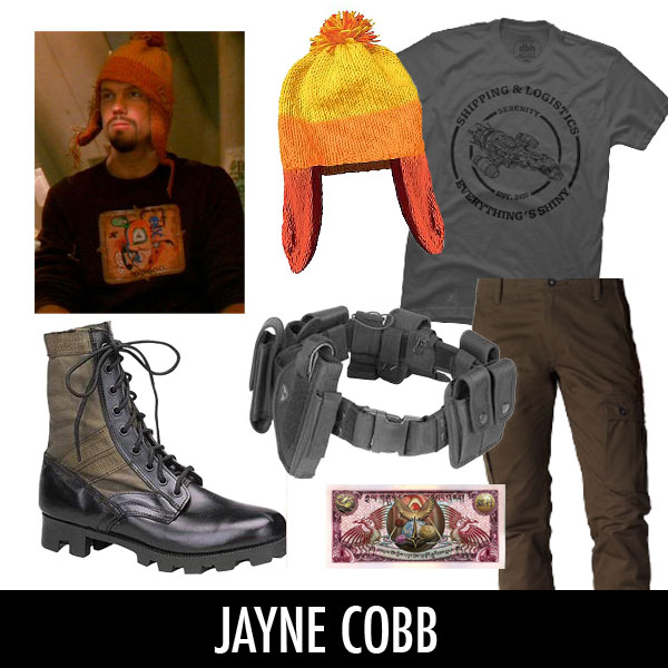 jayne cobb firefly costume designbyhumans tshirt shipping and logistics serenity