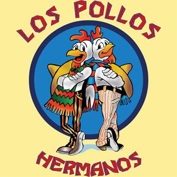 los pollos hermanos breaking bad meth parody tshirt tee