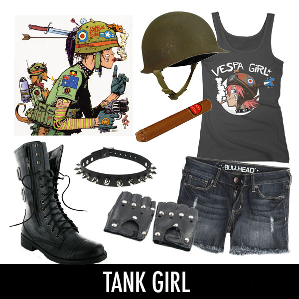 british comic book tank girl character costume punk counterculture