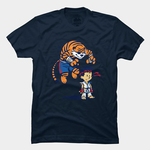 best 0f 2013 tshirt tee calvin and hobbes tiger cartoon