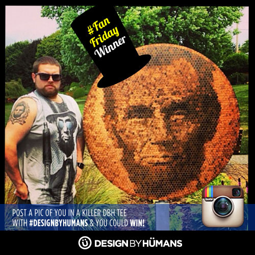 lincoln president fan customer selfie winner instagram fanfriday friday