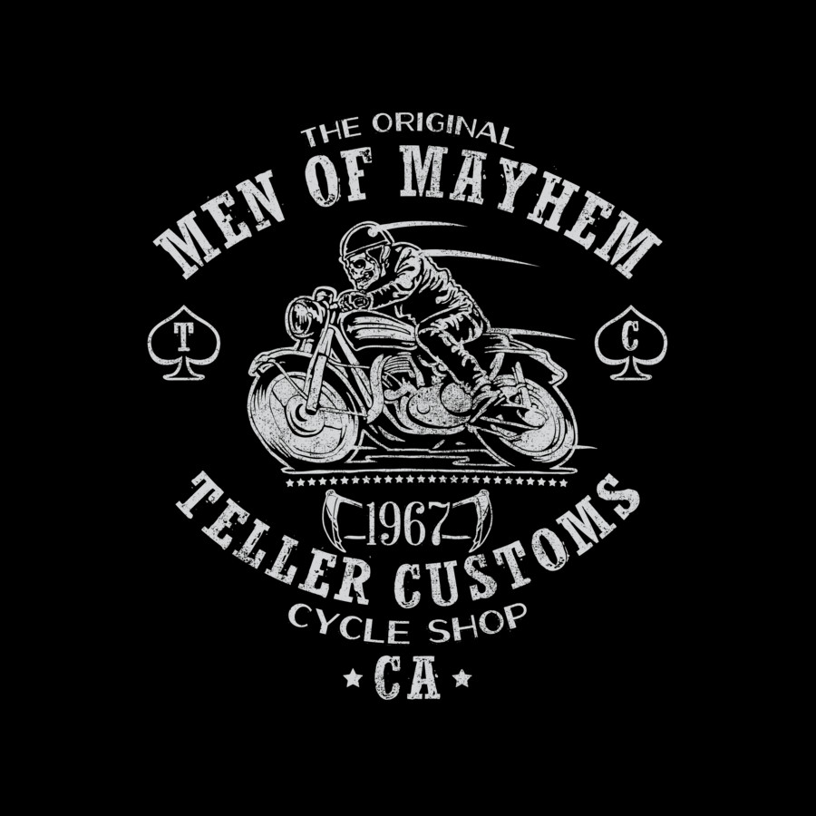 men of Mayhem Graphic Tee
