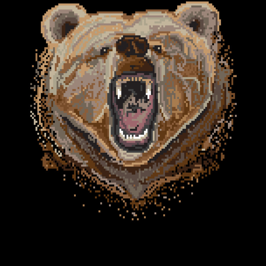 New Pixel Bear Shirt