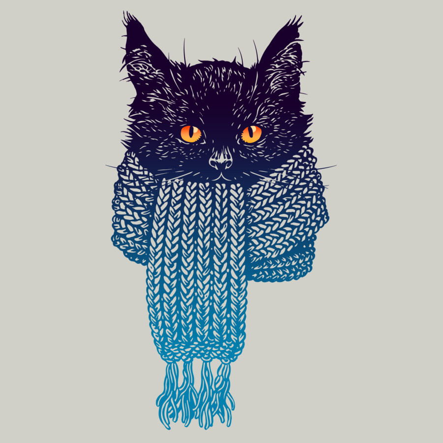 New It's Cold outside Cat Shirt