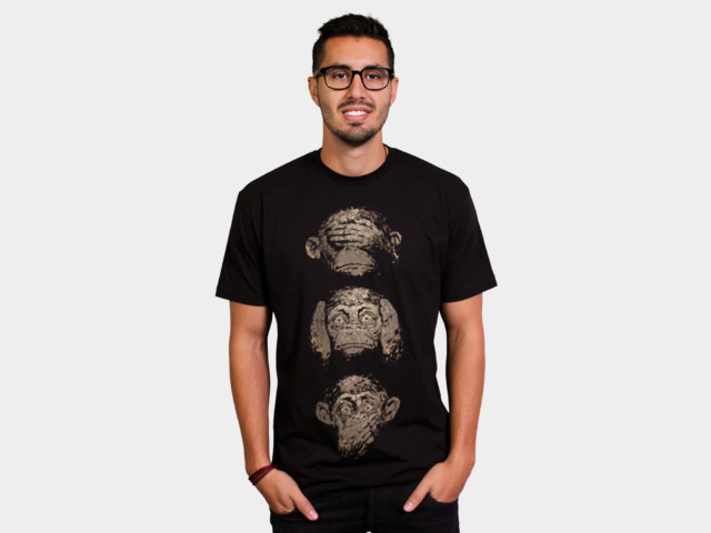 Hear No Evil, See No Evil, Speak No Evil Shirt