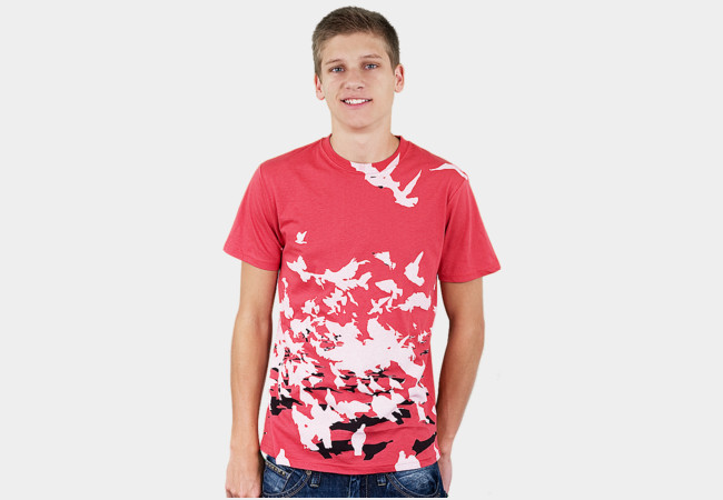 birds aflight T-Shirt - Design By Humans