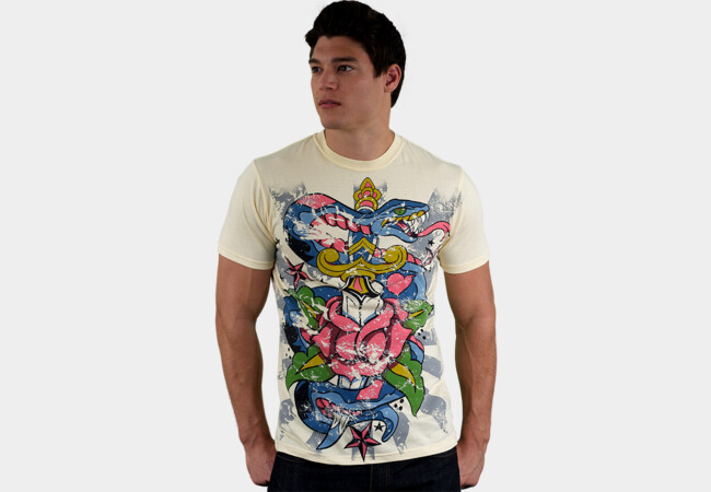 Snakes and Daggers T-Shirt - Design By Humans