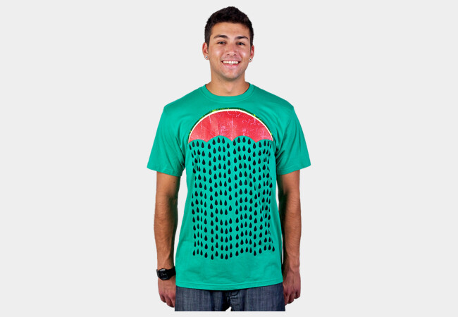 Summer Melon Rain T-Shirt - Design By Humans