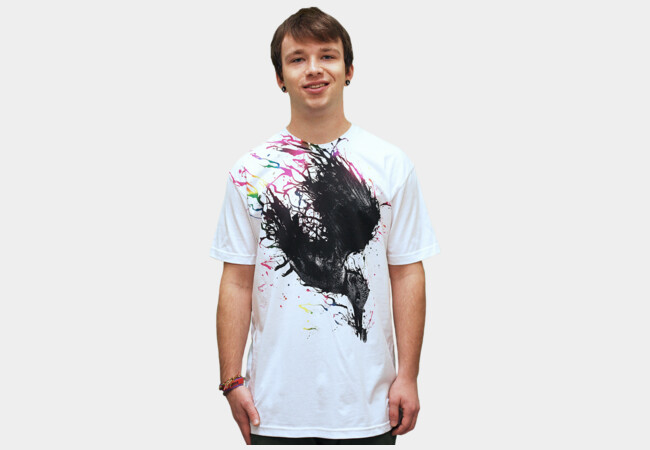Ink Fisher T-Shirt - Design By Humans