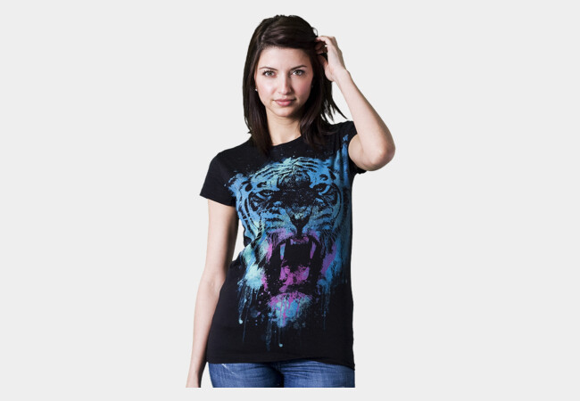 WILD PAINT T-Shirt - Design By Humans