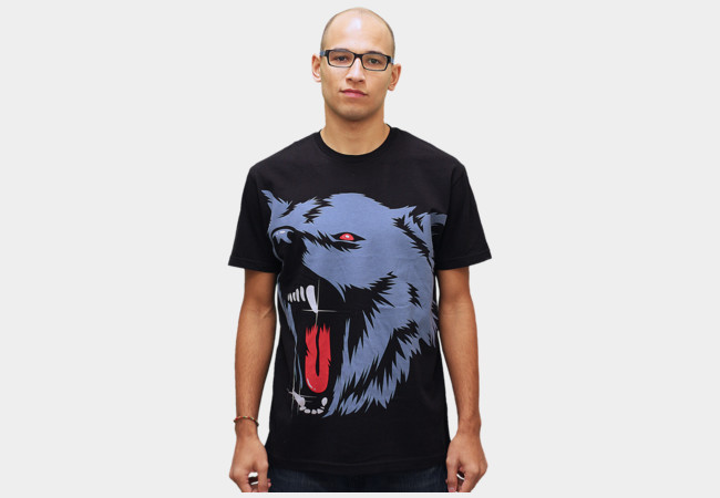 Limited Edition - Big Wolf T-Shirt - Design By Humans