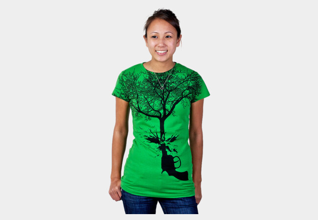 Guntree T-Shirt - Design By Humans