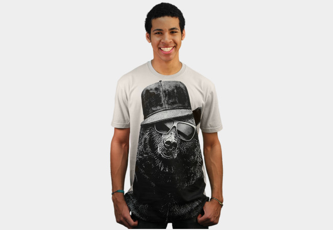 Black Bear T-Shirt - Design By Humans