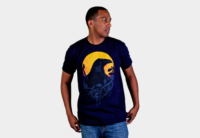 Raven T-Shirt - Design By Humans
